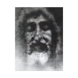 Shroud of Turin: the Face of God, Jesus Christ Gallery Wrapped Canvas
