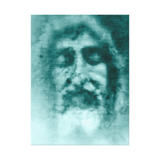 Shroud of Turin: the Face of God, Jesus Christ Gallery Wrap Canvas