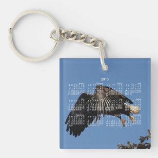 Shrouded by Wings; 2013 Calendar Keychain