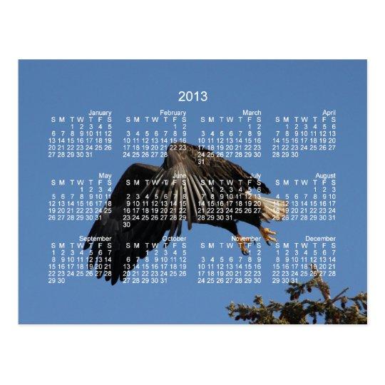 Shrouded by Wings; 2013 Calendar Postcard