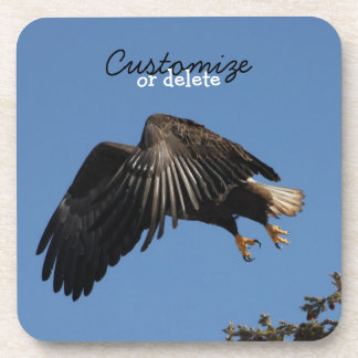 Shrouded by Wings; Customizable Coaster