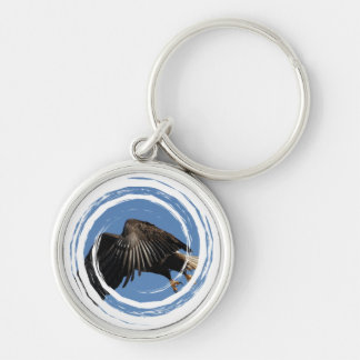 Shrouded by Wings Keychain