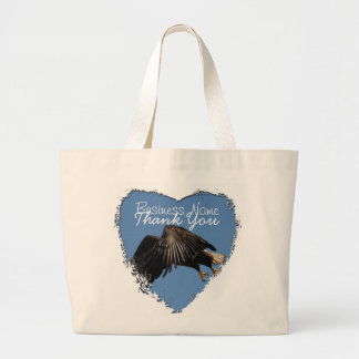 Shrouded by Wings; Promotional Large Tote Bag