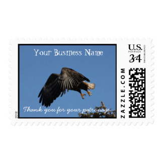 Shrouded by Wings; Promotional Postage Stamp