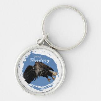 Shrouded by Wings Yukon Territory Souvenir Key Chains