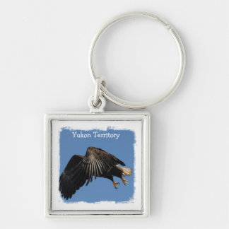 Shrouded by Wings Yukon Territory Souvenir Keychains