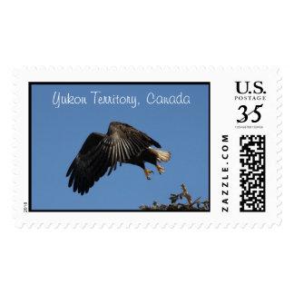 Shrouded by Wings; Yukon Territory Souvenir Postage