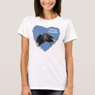 Shrouded by Wings; Yukon Territory Souvenir T-Shirt