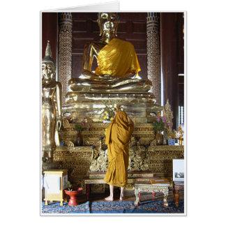 Shrouded Monk Card