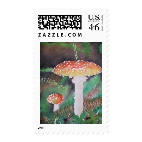 Shrouded Moss stamp