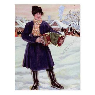 Shrove-tide, 1916 post card