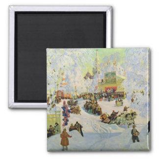 Shrove-Tide, 1919 2 Inch Square Magnet