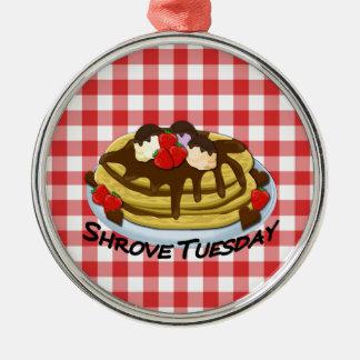 Shrove Tuesday - pancakes Metal Ornament
