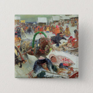 Shrovetide, 1905 button