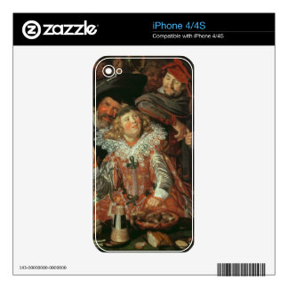 Shrovetide Revellers (The Merry Company) c.1615 (o Decal For iPhone 4