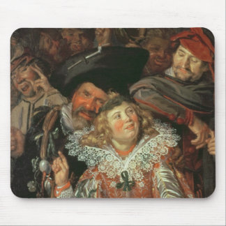 Shrovetide Revellers (The Merry Company) c.1615 (o Mouse Pad