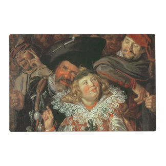 Shrovetide Revellers (The Merry Company) c.1615 (o Placemat