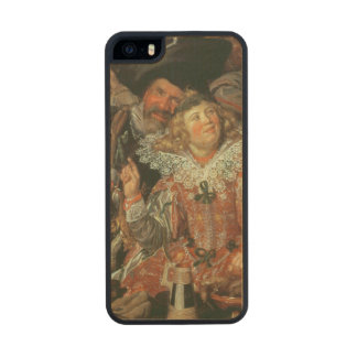 Shrovetide Revellers (The Merry Company) c.1615 (o Carved® Maple iPhone 5 Case
