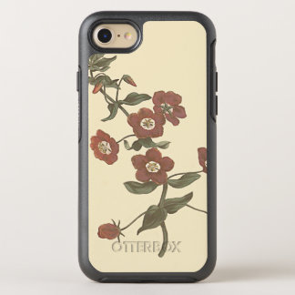 Shrubby Pimpernel Botanical Illustration OtterBox Symmetry iPhone 8/7 Case