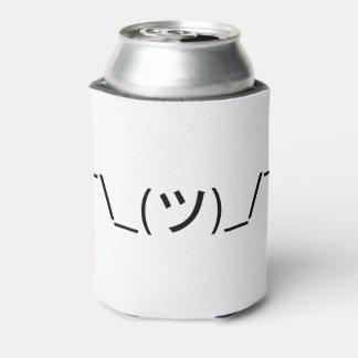 Shrug Emoticon ¯\_(ツ)_/¯ Japanese Kaomoji Can Cooler