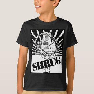 SHRUG Inspired by the Novel Atlas Shrugged T-Shirt
