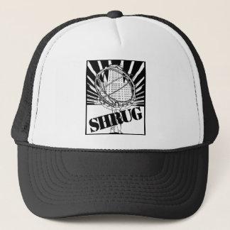 SHRUG Inspired by the Novel Atlas Shrugged Trucker Hat