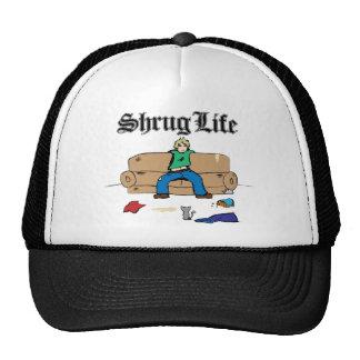 shrug life mesh hats