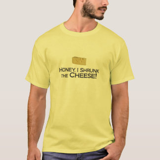 Shrunk the Cheese - Basic Light T-Shirt