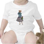 Shrunken Head Dilemma, childrens or babies shirt shirt