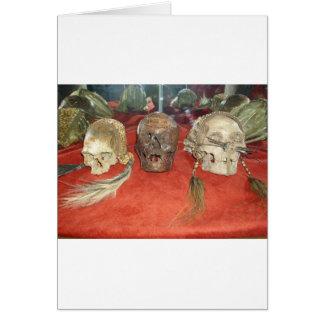Shrunken Heads Voodoo Display Card