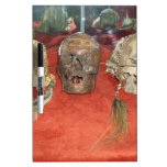 Shrunken Heads Voodoo Display Dry-Erase Whiteboard
