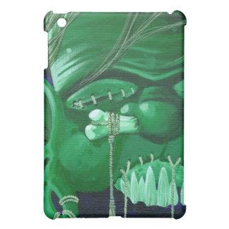 """""""Shrunken Zombie head"""" iPad Mini Cases"""