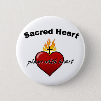 SHS Plays with Heart Pinback Button