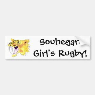 shs saber logo, Souhegan Girl's Rugby! Bumper Sticker