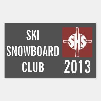 SHS Ski Club Sticker