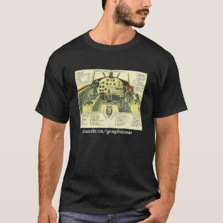 Shturmovik Cockpit Diagram T-Shirt