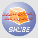 Shube Clueberry, www.clueberries.com Stickers