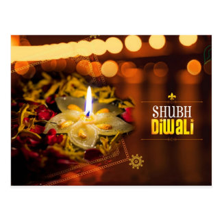 Shubh Diwali Tarjeta Postal