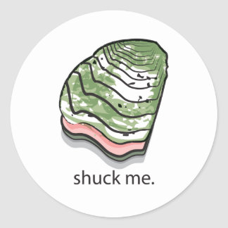 Shuck Me Sticker