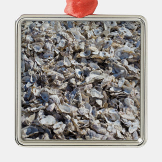 Shucked Oyster Shells Christmas Tree Ornament
