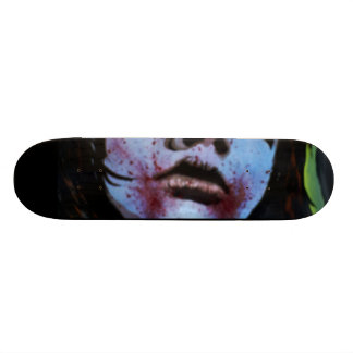 'Shudders Pass Through the Night' Skateboard