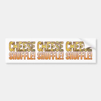 Shuffle Blue Cheese Bumper Sticker