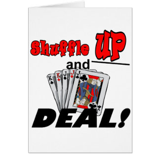 Shuffle Up and Deal T-shirts and Gifts Card