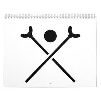 Shuffleboard Calendarios De Pared