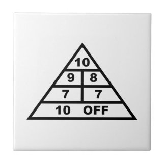 Shuffleboard Ceramic Tile