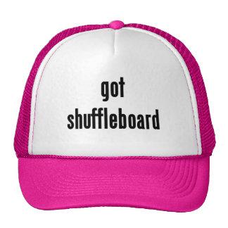 ¿shuffleboard conseguido? gorro de camionero