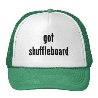 ¿shuffleboard conseguido? gorros