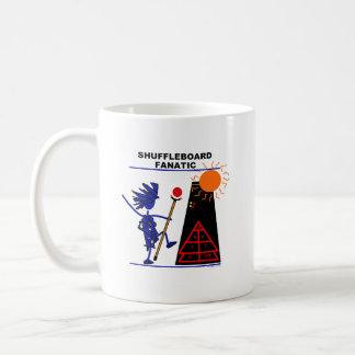 Shuffleboard Fanatic Classic White Coffee Mug