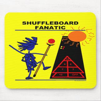 Shuffleboard Fanatic Mouse Pad