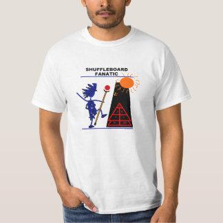 Shuffleboard Fanatic T-shirts